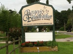Bergey's Breadbasket Sign