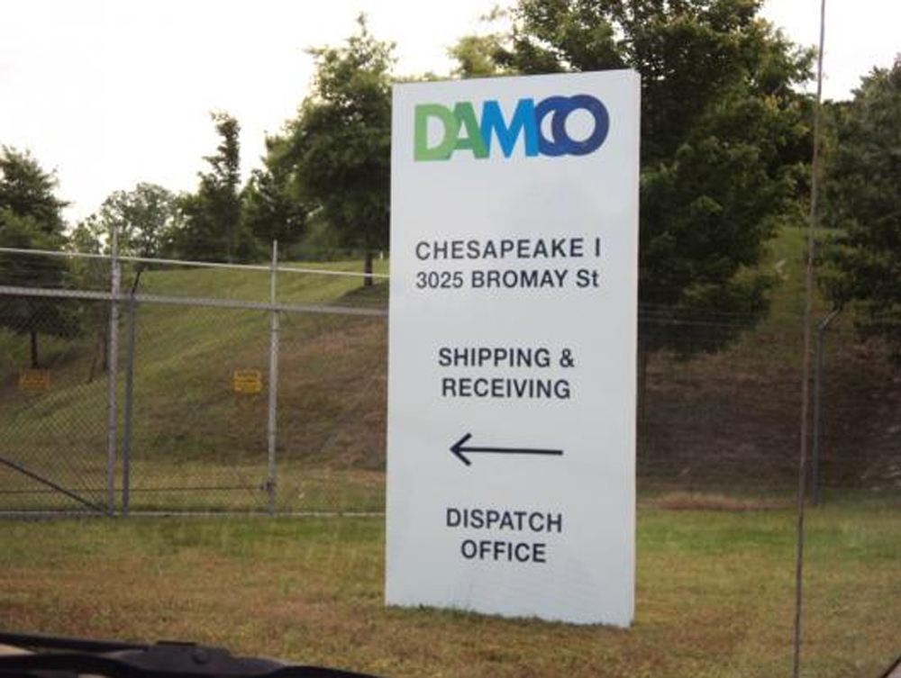 way finding sign - DAMCO
