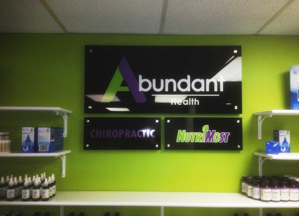Abundant Health Solutions sign - Virginia Beach