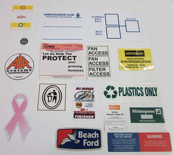 Stickers, Decals for Business