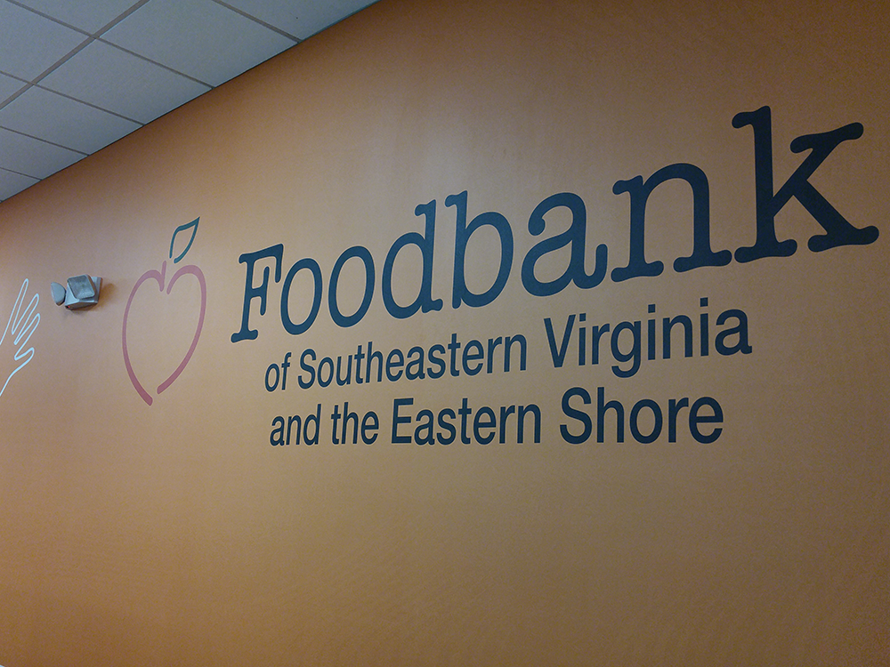 wall graphics - Foodbank