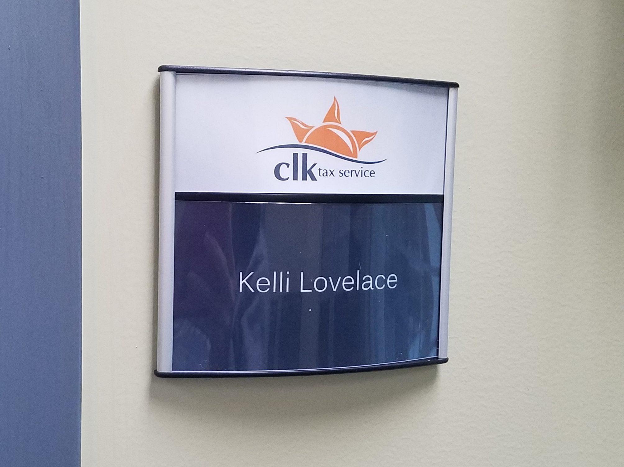 Ameriprise Nameplate Sign