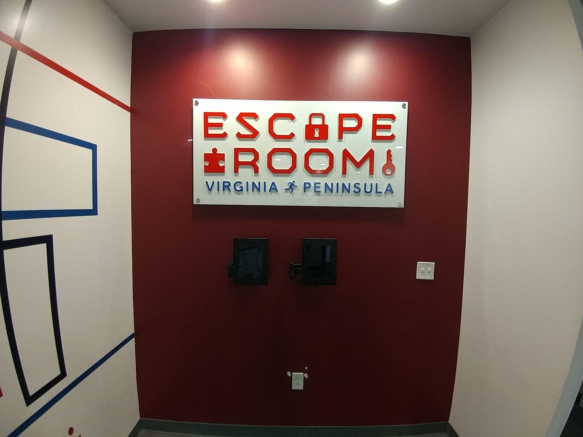 Escape Room sign