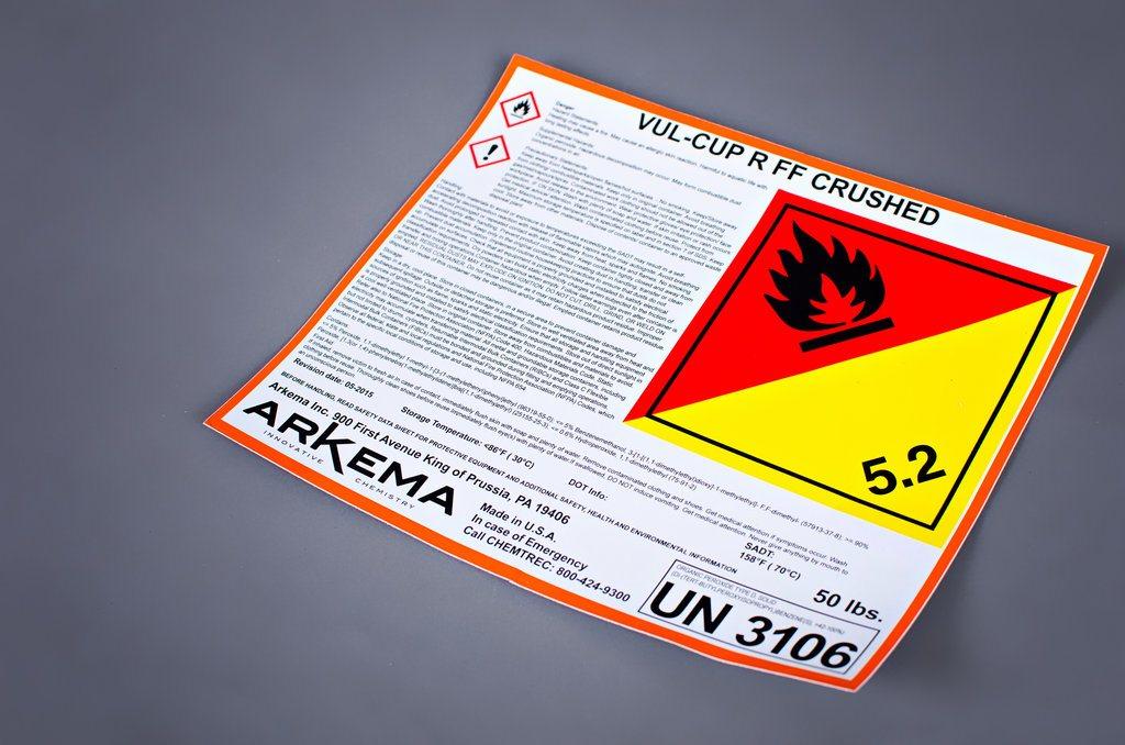 label screen print