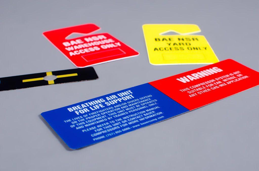 parking pass screen printing