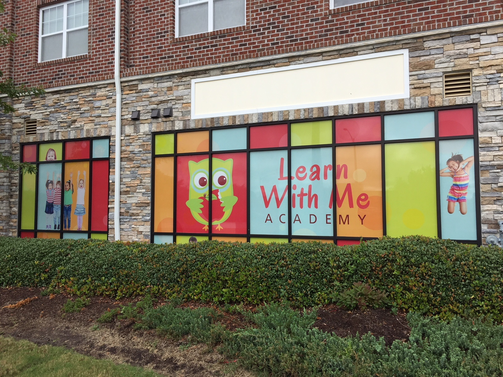 window graphics - Learn With Me Academy - Lynnhaven