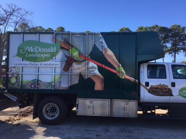 Truck wrap - virginia beach