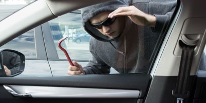 Secure valuables with window tinting